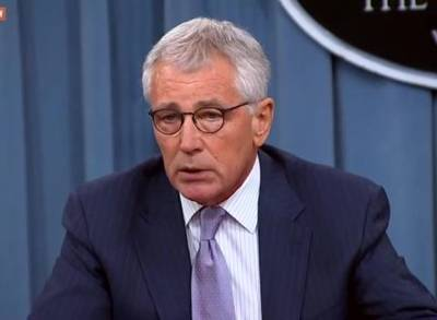 News video: Chuck Hagel Stepping Down 'Under Pressure'