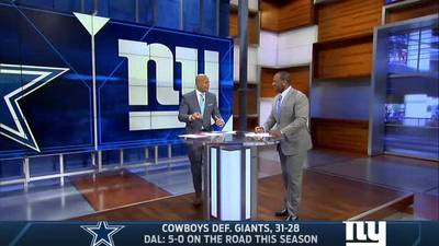 News video: Cowboys rally to beat Giants despite Beckham Jr.'s performance