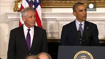 News video: US Defence Secretary Chuck Hagel steps down